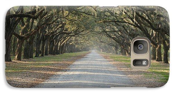 Galaxy Case featuring the photograph Oak Avenue by Bradford Martin