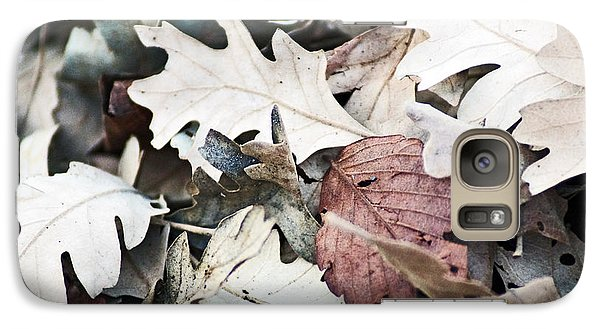 Galaxy Case featuring the photograph Oak Leaves In Fall by Gary Brandes