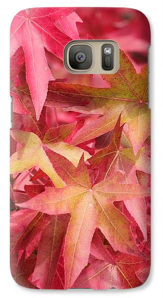 Galaxy Case featuring the photograph Oak Leaves In The Fall by E Faithe Lester