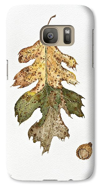 Galaxy Case featuring the painting Oak Study by Michele Myers
