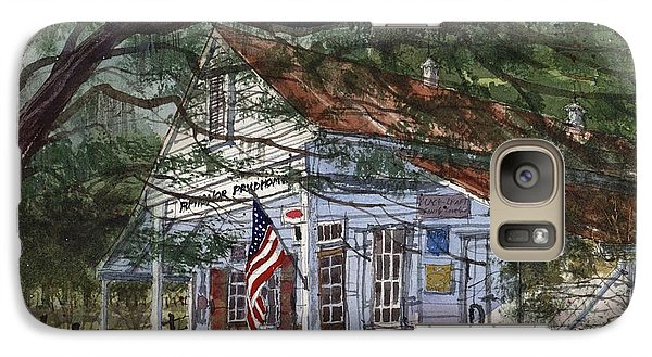 Galaxy Case featuring the painting Oakland Plantation Store by Tim Oliver