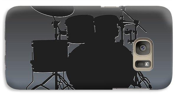 Oakland Raiders Drum Set Galaxy S7 Case by Joe Hamilton