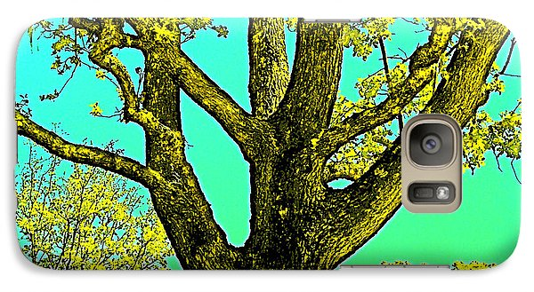 Galaxy Case featuring the photograph Oaks 3 by Pamela Cooper