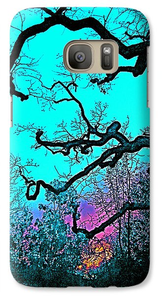 Galaxy Case featuring the photograph Oaks 4 by Pamela Cooper