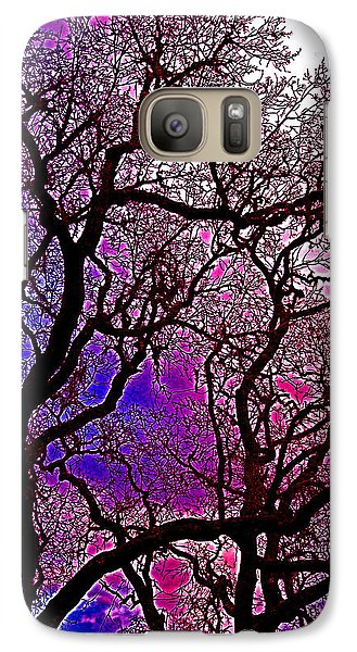 Galaxy Case featuring the photograph Oaks 6 by Pamela Cooper