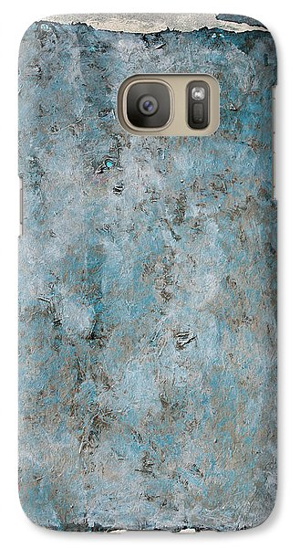 Galaxy Case featuring the painting Oasis by Asha Carolyn Young