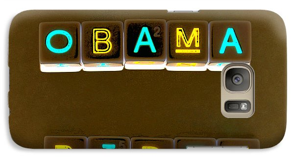 Obama Biden Words. Galaxy S7 Case