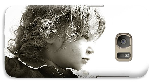 Galaxy Case featuring the photograph Observations Of A Child by Charles Beeler
