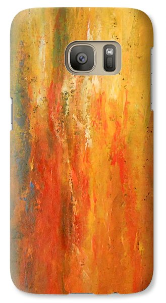 Galaxy Case featuring the painting Obsession by Jane  See