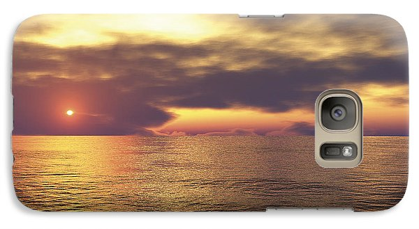 Galaxy Case featuring the digital art Ocean 2 by Mark Greenberg