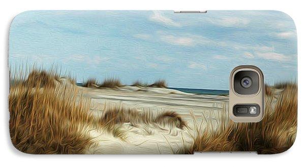 Galaxy Case featuring the digital art Ocean Ahead by Kelvin Booker