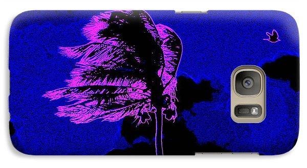 Galaxy Case featuring the painting Ocean Art 111 by David Mckinney