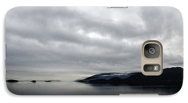 Galaxy Case featuring the photograph Ocean Art In The Straights Of Magellan Chile by Sally Ross