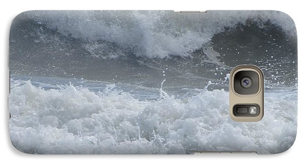 Galaxy Case featuring the photograph Ocean At Kill Devil Hills by Cathy Lindsey