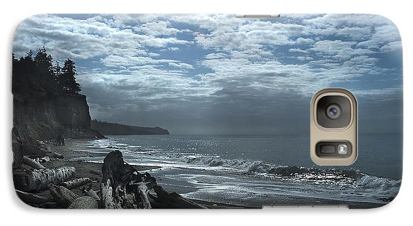 Ocean Beach Pacific Northwest Galaxy S7 Case
