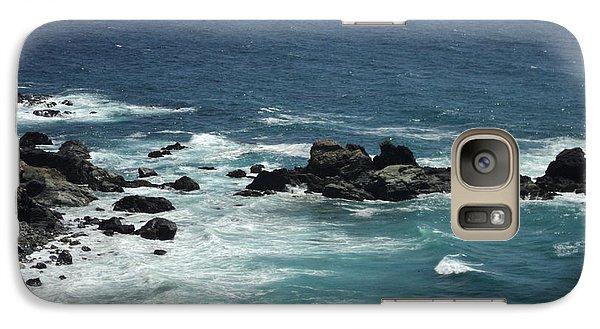 Galaxy Case featuring the photograph Ocean Blue by Carla Carson