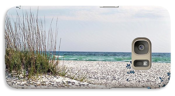 Galaxy Case featuring the photograph Ocean Breeze by Athala Carole Bruckner