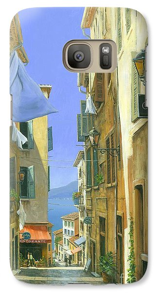 Galaxy Case featuring the painting Ocean Breeze by Michael Swanson