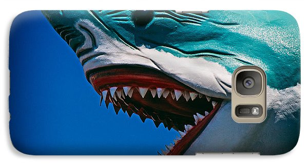 Ocean City Shark Attack Galaxy S7 Case