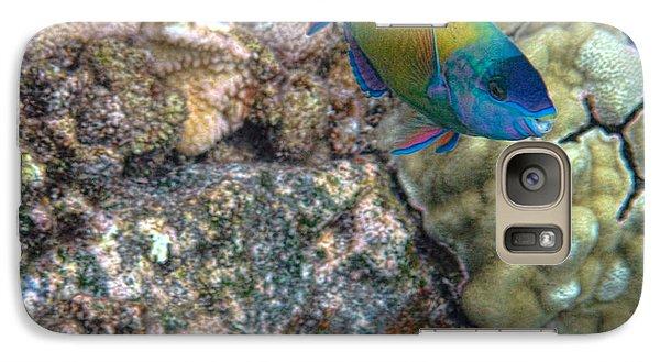 Ocean Color Galaxy S7 Case by Peggy Hughes