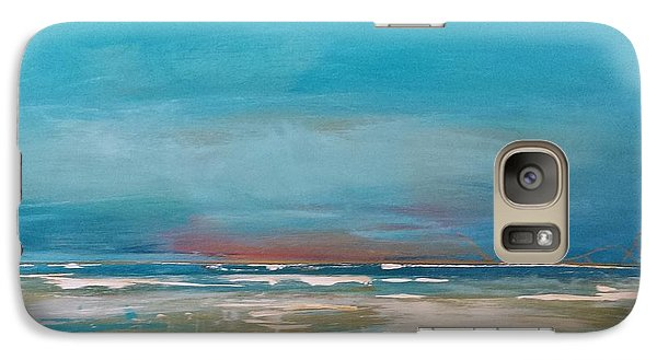 Galaxy Case featuring the painting Ocean by Diana Bursztein
