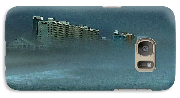 Galaxy Case featuring the photograph Ocean Fog by Ed Roberts