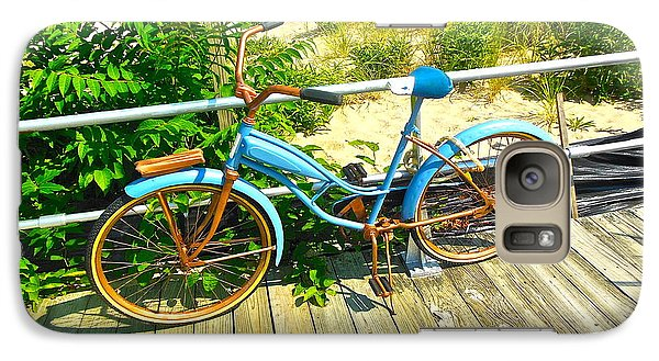 Galaxy Case featuring the photograph Ocean Grove Bike by Joan Reese