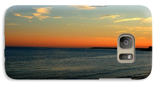 Galaxy Case featuring the photograph Ocean Hues No. 2 by Neal Eslinger