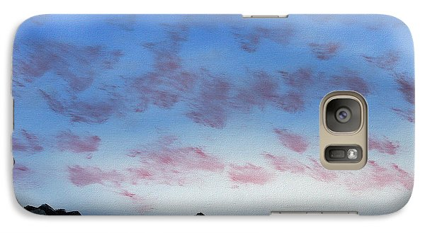 Galaxy Case featuring the painting Ocean Islands by Jennifer Muller