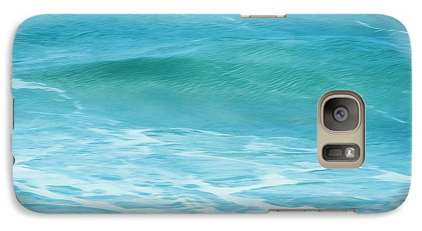 Galaxy Case featuring the photograph Ocean Lullaby by Roselynne Broussard