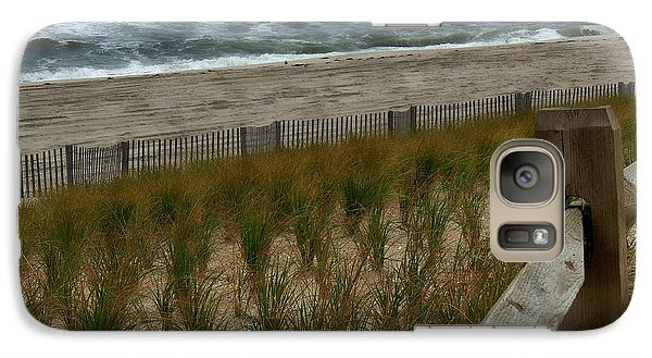 Galaxy Case featuring the photograph Ocean Mist by Allen Beilschmidt