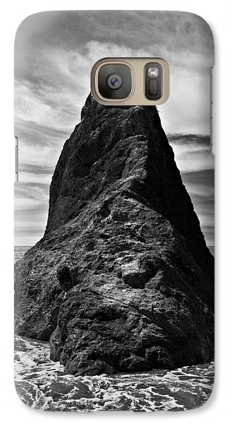 Galaxy Case featuring the photograph Ocean Rock by Kjirsten Collier