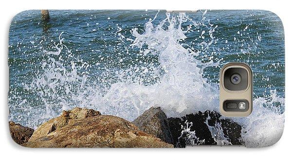 Galaxy Case featuring the photograph Ocean Spray by John Mathews