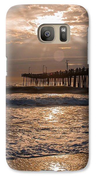 Galaxy Case featuring the photograph Ocean Sunrise  by Dawn Romine