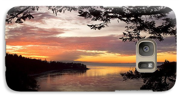 Ocean Sunset Deception Pass Galaxy S7 Case