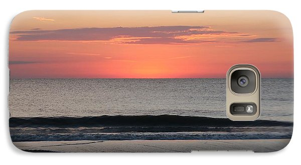 Galaxy Case featuring the photograph Ocean Trails by Robert Banach