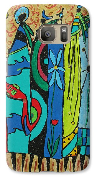 Galaxy Case featuring the painting Oceania by Clarity Artists