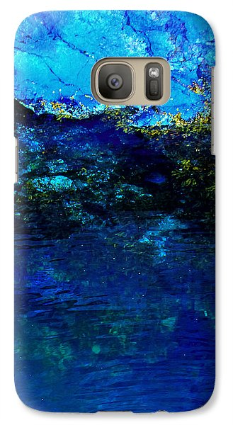 Galaxy Case featuring the photograph Oceans Edge by Michael Nowotny
