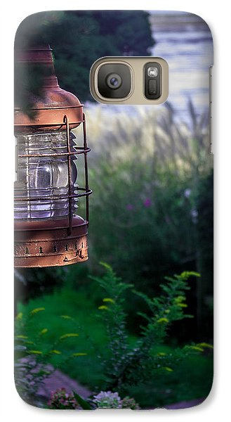 Galaxy Case featuring the photograph Oceanside Lantern by Patrice Zinck