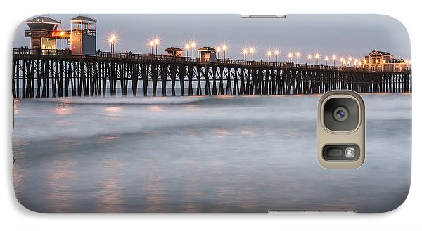 Galaxy Case featuring the photograph Oceanside Pier 1 by Lee Kirchhevel