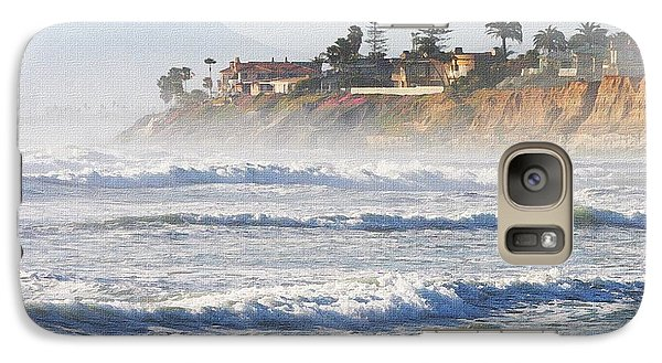 Galaxy Case featuring the photograph Oceanside California by Tom Janca