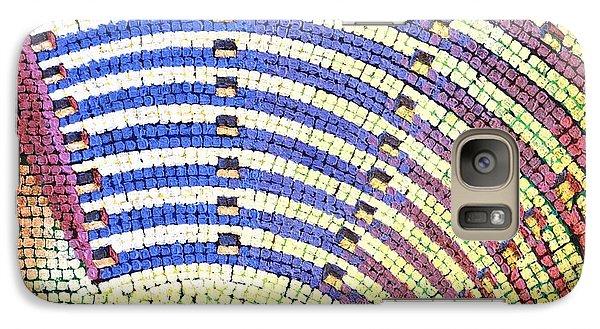 Galaxy Case featuring the painting Ochre Auditorium by Mark Howard Jones