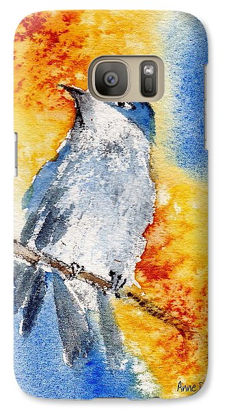 Galaxy Case featuring the painting October First by Anne Duke