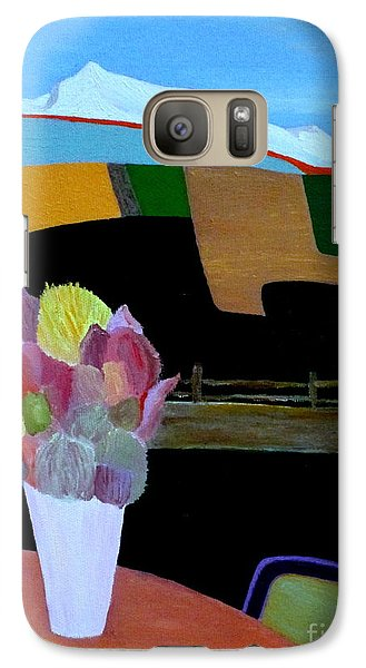 Galaxy Case featuring the painting October Morning by Bill OConnor