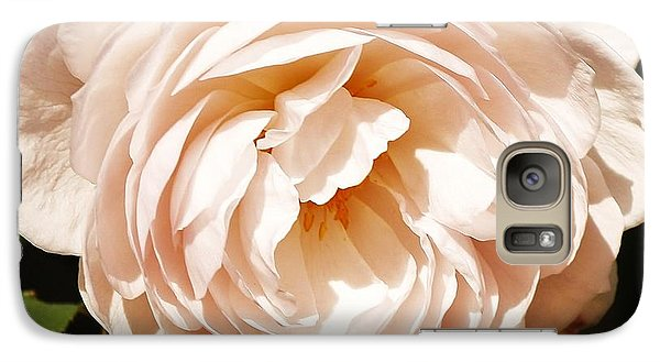 Galaxy Case featuring the photograph October Rose by Al Fritz