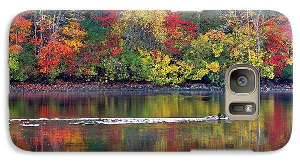 Galaxy Case featuring the photograph October's Colors by Dianne Cowen