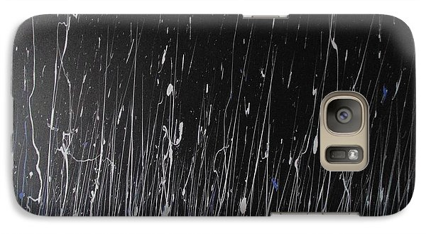 Galaxy Case featuring the painting Ode by Nereida Rodriguez
