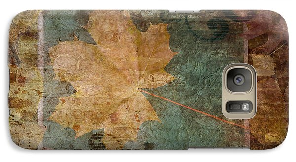 Galaxy Case featuring the photograph Ode To Autumn by Terri Harper