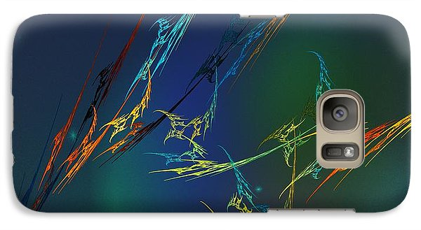 Galaxy Case featuring the digital art Ode To Joy by David Lane