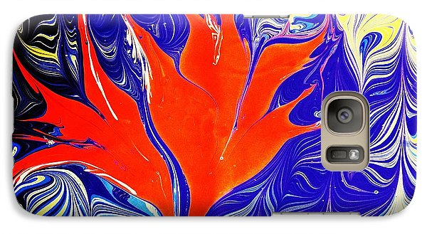 Galaxy Case featuring the painting Of Paradise  by Lisa Brandel